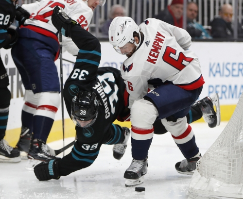 Takeaways: Sharks deserve a get-out-of-jail free card after loss to Caps