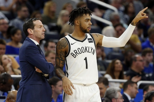 Sean Marks on D'Angelo Russell: 'He's rounding out into a pro'
