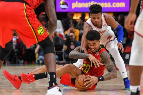 Hawks fall into the trap, flounder in loss to Knicks