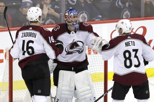 Avalanche End The Losing Streak, Win 4-1 Against Winnipeg