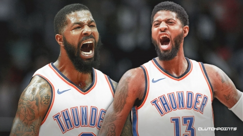 Thunder star Paul George excited about addition of Markieff Morris