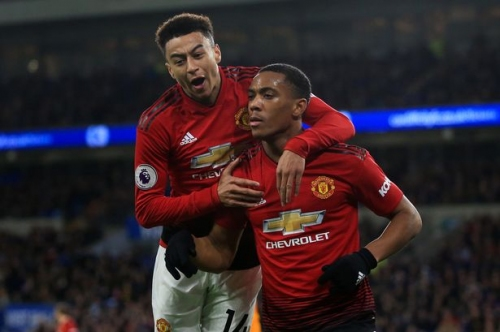 The Manchester United fixtures Anthony Martial and Jesse Lingard are set to miss through injury