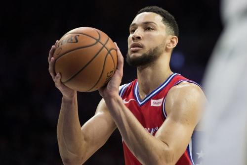 Video: Grainy Ben Simmons 3-point footage