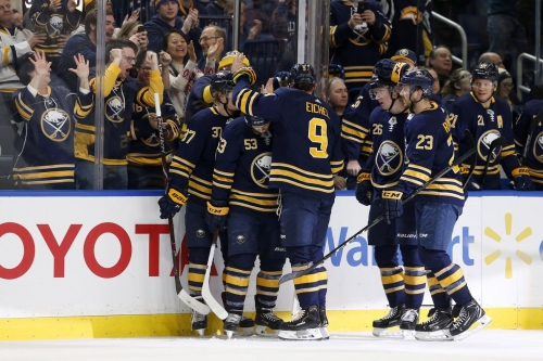 Recent changes have helped the Sabres power play