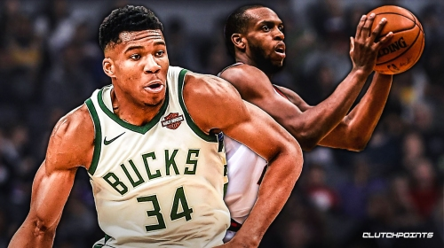 Giannis Antetokounmpo, Khris Middleton acknowledge how they used to hate playing against each other in Bucks practice