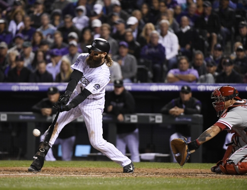 Charlie Blackmon will be the Rockies' leadoff batter in 2019