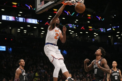 Mitchell Robinson should have been added to the Rising Stars game