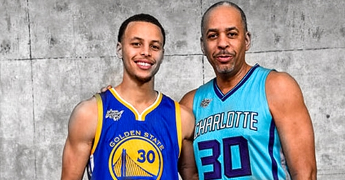 Stephen Curry teases surprise Dell Curry appearance in Three-Point Contest