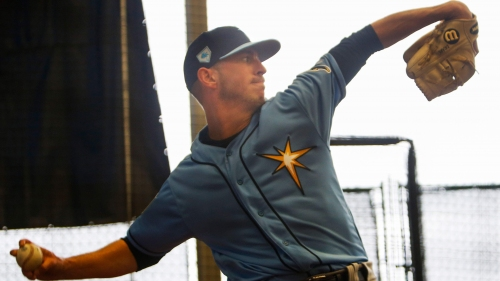 Experience has taught Rays pitcher Oliver Drake to pack light