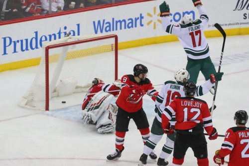 Wild look to bounce back, face Jersey as home stand continues