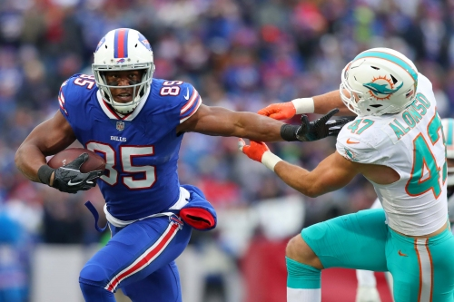 Tight end Charles Clay released by Buffalo Bills