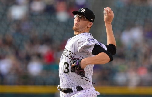 """Rockies pitcher Jeff Hoffman is ready to """"blow you away"""" with a fastball closing in on 99 mph"""