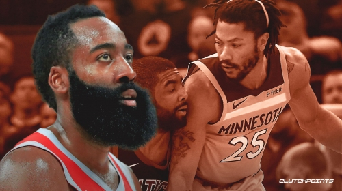 Rockets' James Harden says Timberwolves' Derrick Rose is 'different'