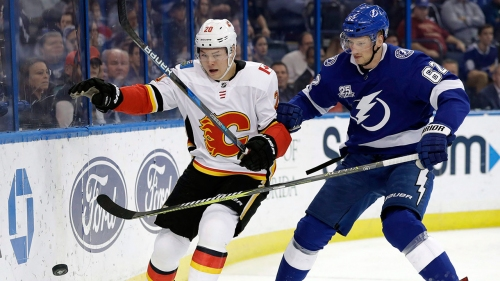 Flames recall Curtis Lazar from AHL's Stockton Heat