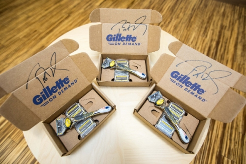 Win Tom Brady-Signed Gillette Razor Box; Auction Proceeds Benefit Jimmy Fund Radio-Telethon