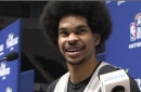 Nets C Jarrett Allen had his name misspelled during All-Star Weekend, but can he spell other NBA players' names?