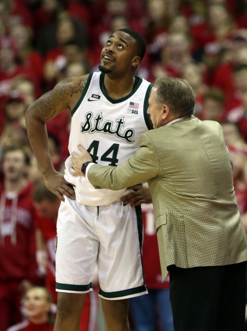 Michigan State's Nick Ward taking game against Ohio State personally