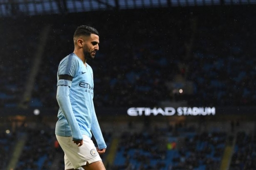 Pep Guardiola reveals why Riyad Mahrez is not playing for Man City