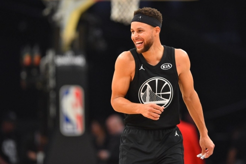 Stephen Curry, unofficial ambassador of All Star weekend, gets started by hosting a skills camp for youth