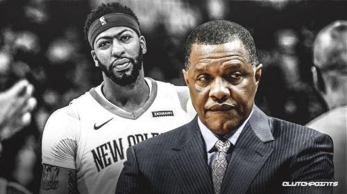 Pelicans' Anthony Davis texted Alvin Gentry that he went to get MRI on injured shoulder