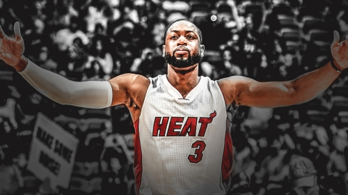 Heat SG Dwyane Wade hasn't had any moments this season where he's thought about changing retirement decision