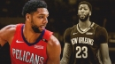 Pelicans' Jahlil Okafor has nothing but good things to say about Anthony Davis