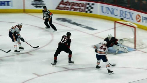 Kassian feeds Draisaitl for perfect 2-on-1 goal