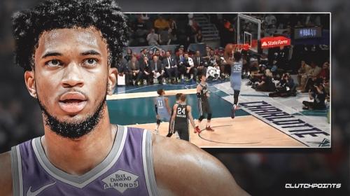 Video: Kings big man Marvin Bagley's standstill windmill dunk in All-Star Rising Stars Game