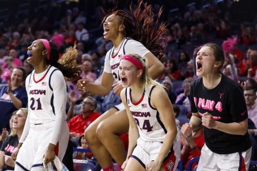 Arizona women's basketball upsets Utah, get revenge for being 'embarrassed'