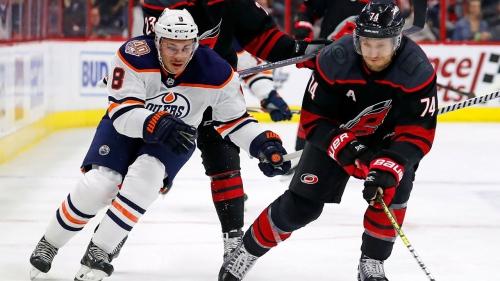 Nino Niederreiter leads Hurricanes past Oilers