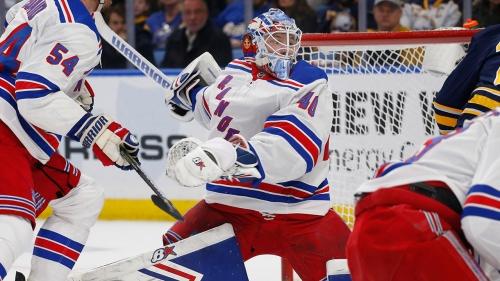 Georgiev stops 31 in Rangers' win over Sabres