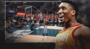 Video: Jazz SG Donovan Mitchell gets Shaqtin' a Fool moment after failing miserably on wide-open dunk attempt