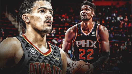 Video: Hawks' Trae Young nutmegs Deandre Ayton in All-Star Rising Stars Challenge