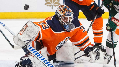 Oilers trade goalie Cam Talbot to Flyers for Stolarz