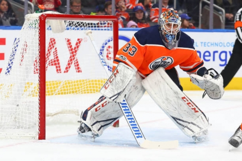 Edmonton Oilers Trade Cam Talbot
