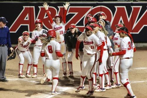 Arizona softball routs Illinois-Chicago after dispiriting loss to USF