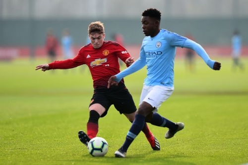 Man City vs Manchester United U18s LIVE goal and score updates
