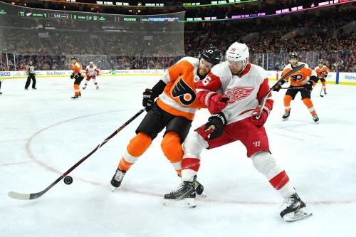 Morning Skate: Red Wings vs Flyers