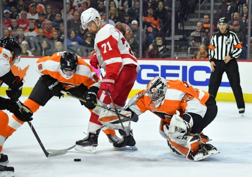 Detroit Red Wings vs. Philadelphia Flyers: Home-and-home with 1 of NHL's hottest teams