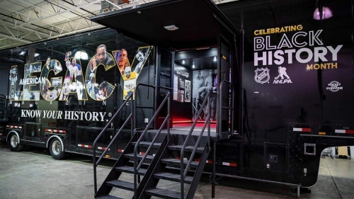 NHL's American Legacy Truck showcases the game's black roots
