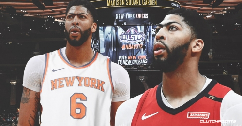 Anthony Davis reveals the reason the Knicks are on his list of possible teams