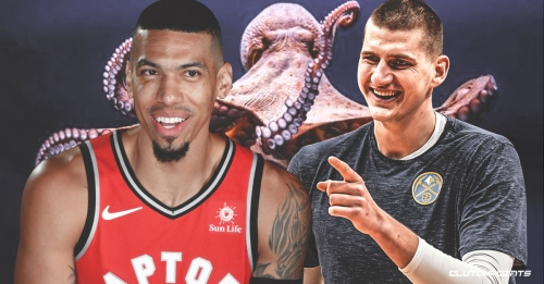 Raptors' Danny Green calls Nuggets' Nikola Jokic a 'big man octopus'
