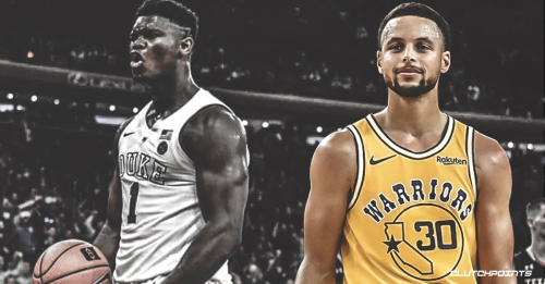Warriors star Steph Curry reveals his thoughts on projected top NBA draft pick Zion Williamson