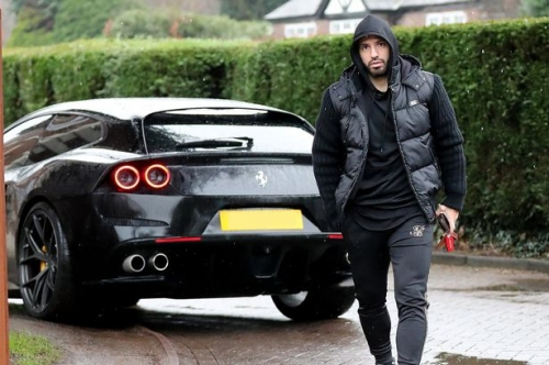 The Manchester football stars and their supercars