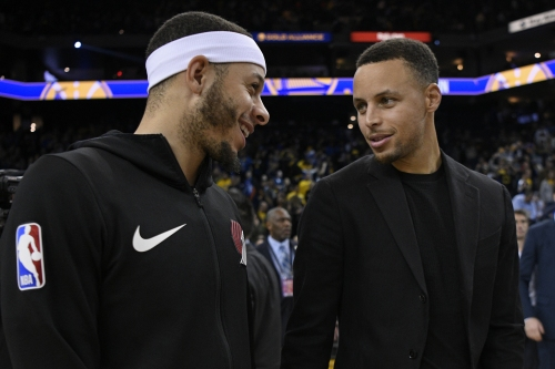NBA 3-point contest: Stephen & Seth Curry have a wager