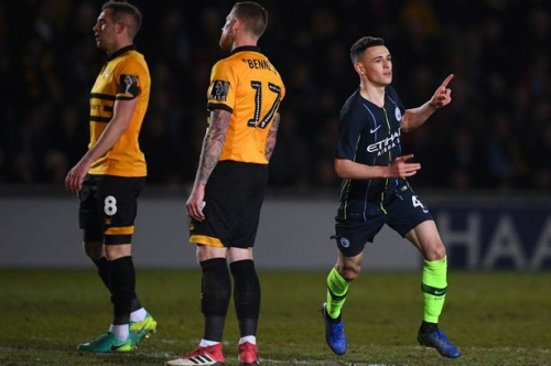 Phil Foden sets bold Man City target after FA Cup victory