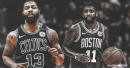 Kyrie Irving responds to Marcus Morris' recent comments on Celtics' struggles