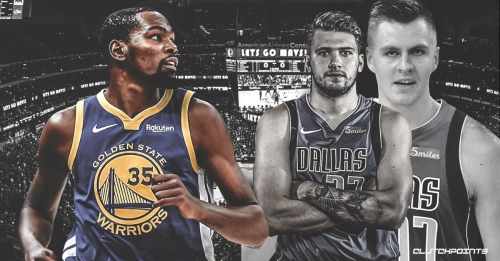Kevin Durant is excited about seeing Mavs' Kristaps Porzingis and Luka Doncic duo