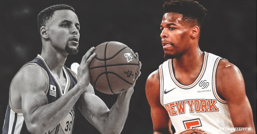 Knicks' Dennis Smith Jr. says Warriors' Stephen Curry is only All-Star that's 'the best of all-time at something'