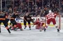Flyers blow lead late, score overtime winner in thriller vs. Red Wings